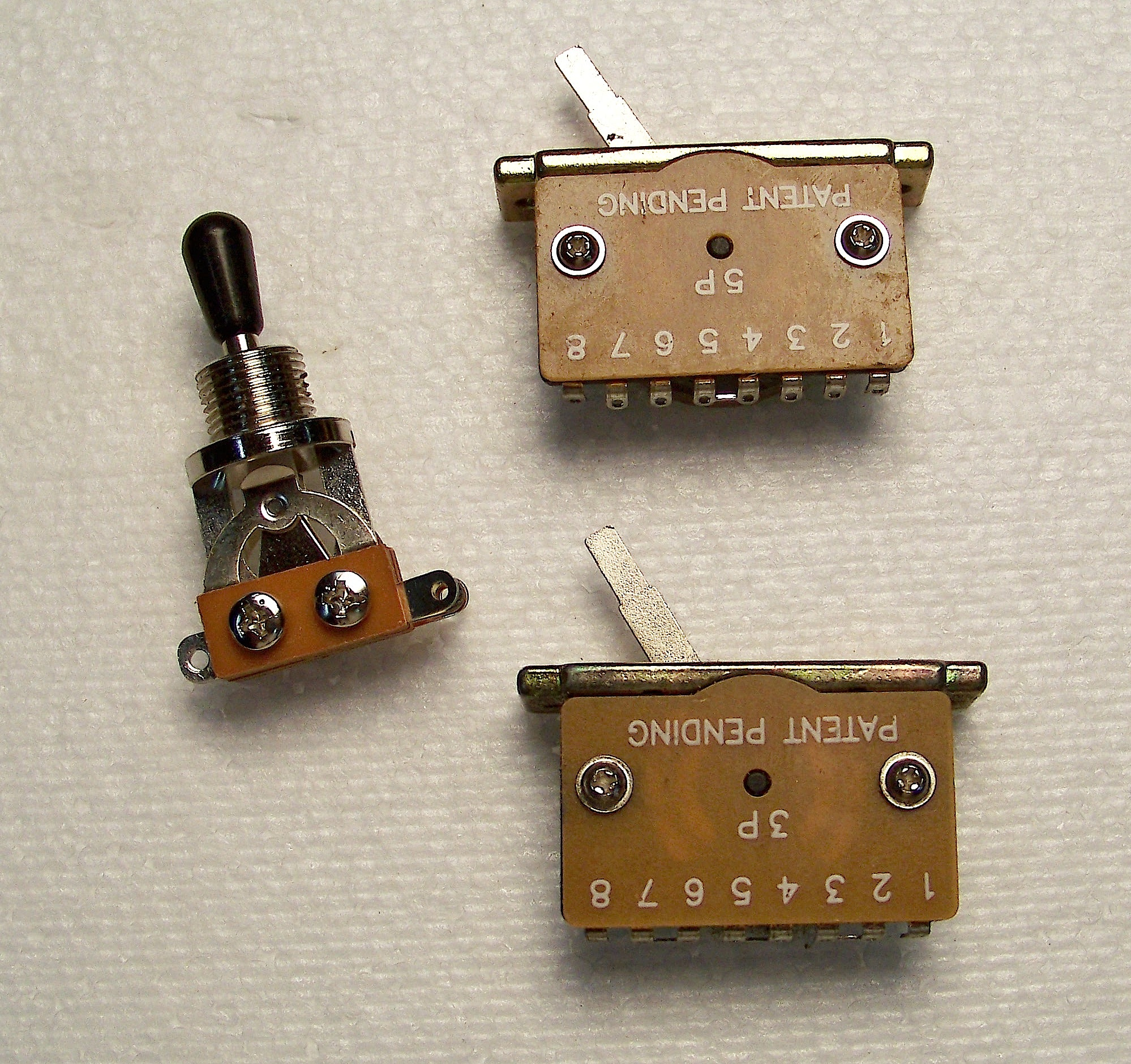 Phantom Guitarworks Parts Plus Accessories Phantom Teardrop - 5 Way Switch Guitar
